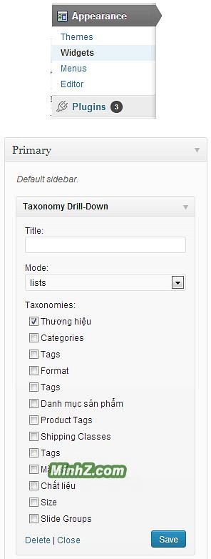 Cai dat Simple Taxonomy - Custom Taxonomies buoc 3
