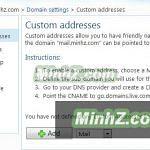 Đăng ký email riêng theo tên miền