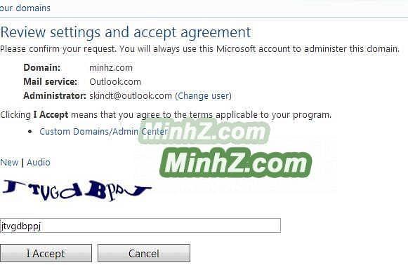 Windows Live Admin Center 4