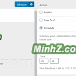 Your scheduled changes just published